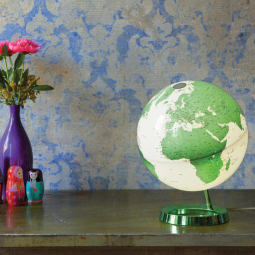 Light & Color Designer Series Globe Hot Green